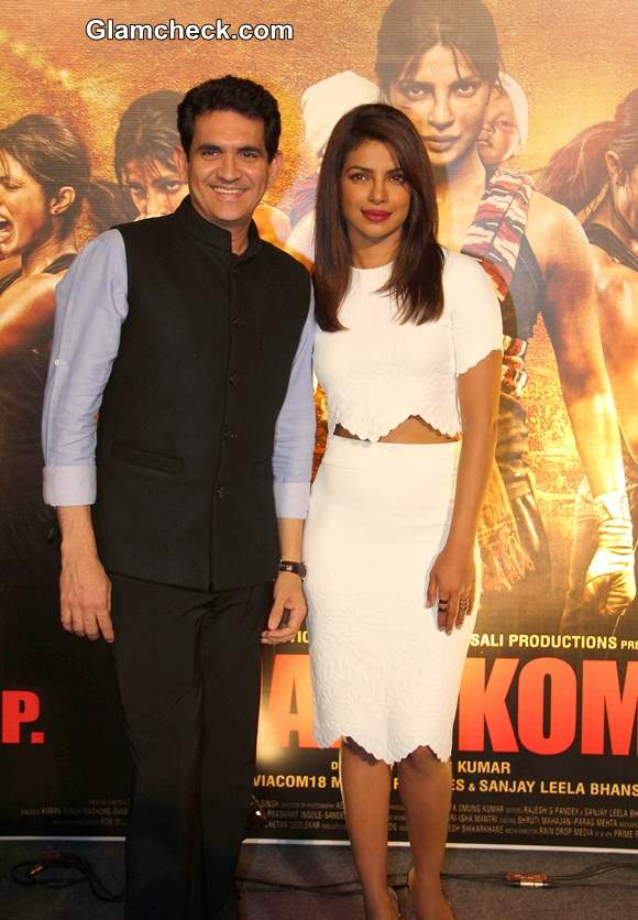 Priyanka Chopra and filmmaker Omung Kumar