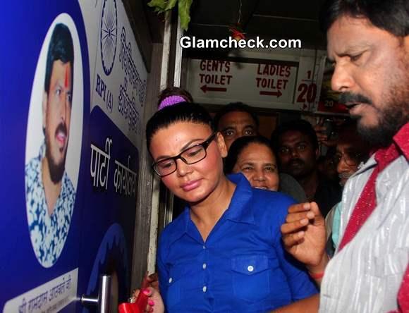 Rakhi Sawant Inaugurates RPIs New Office Space