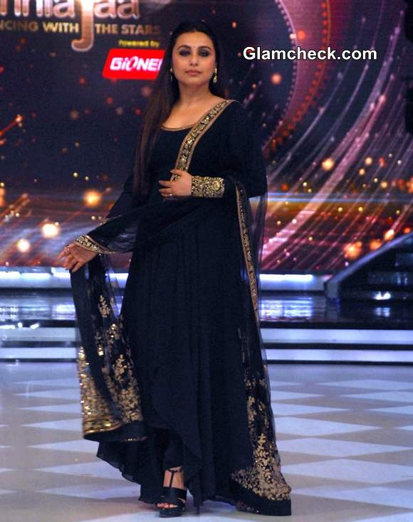 Rani Mukherjee 2014 Promotes Mardaani on Jhalak Dikhla Jaa