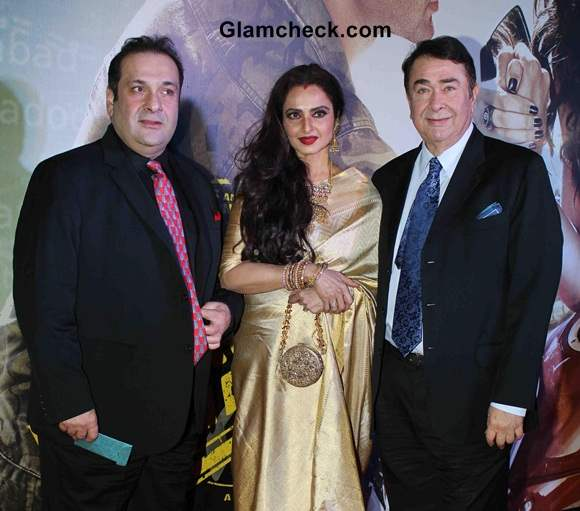 Rekha at Lekar Hum Deewana Dil Premiere