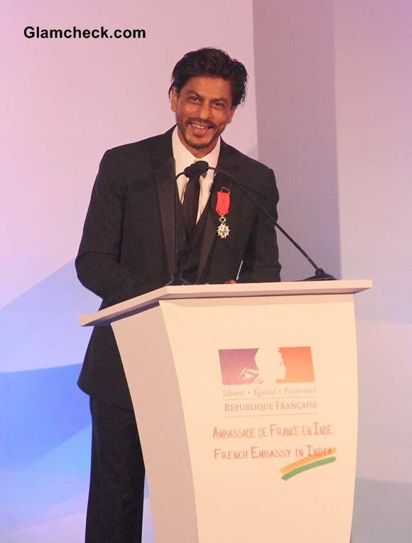 Shahrukh Khan 2014 Receives Highest French Honour Pictures