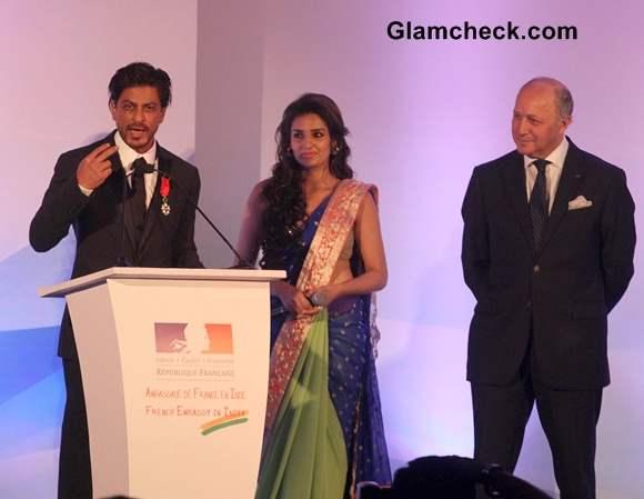 Shahrukh Khan 2014 Receives Highest French Honour
