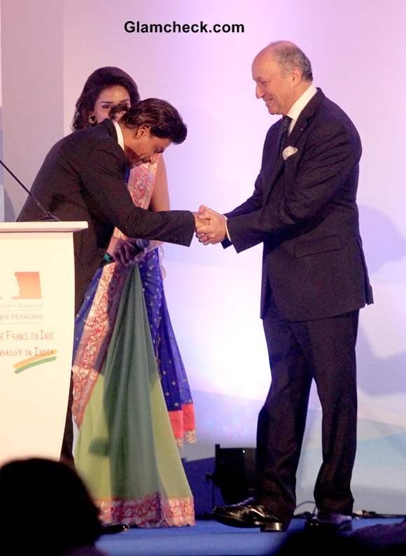 Shahrukh Khan Receives Highest French Honour 2014 Pics