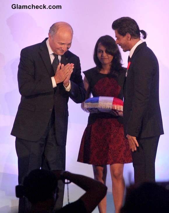 Shahrukh Khan Receives Highest French Honour 2014