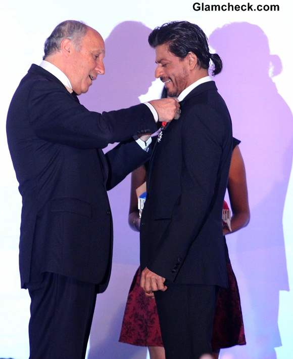 Shahrukh Khan Receives Highest French Honour