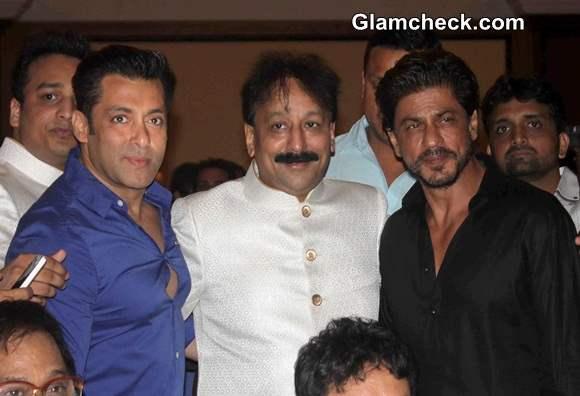 Shahrukh Khan and Salman Khan Meet Up at Iftar Party 2014