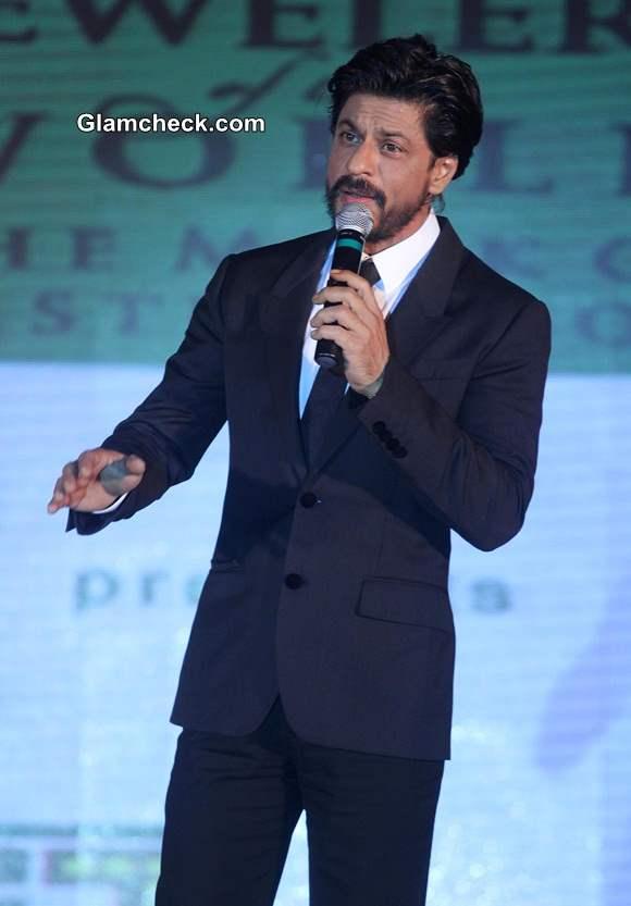 Shahrukh Khan at Gitanjali Gems Eventually