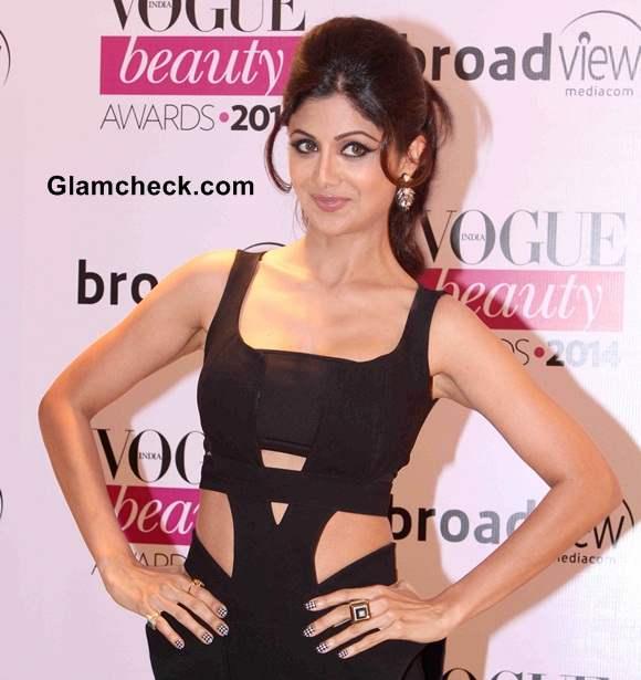 Shilpa Shetty 2014 Vogue Beauty Awards