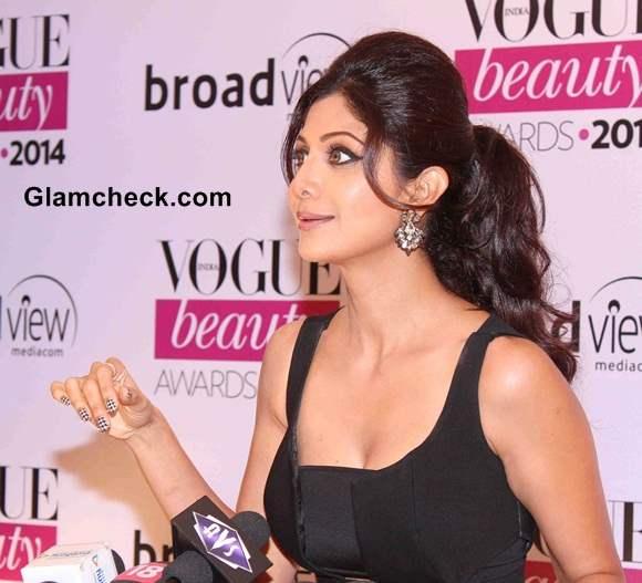 Shilpa Shetty 2014 at Vogue Beauty Awards