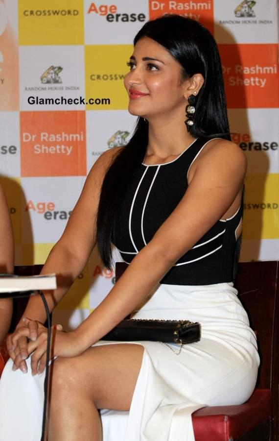 Shruti Haasan at Age Erase Book Launch