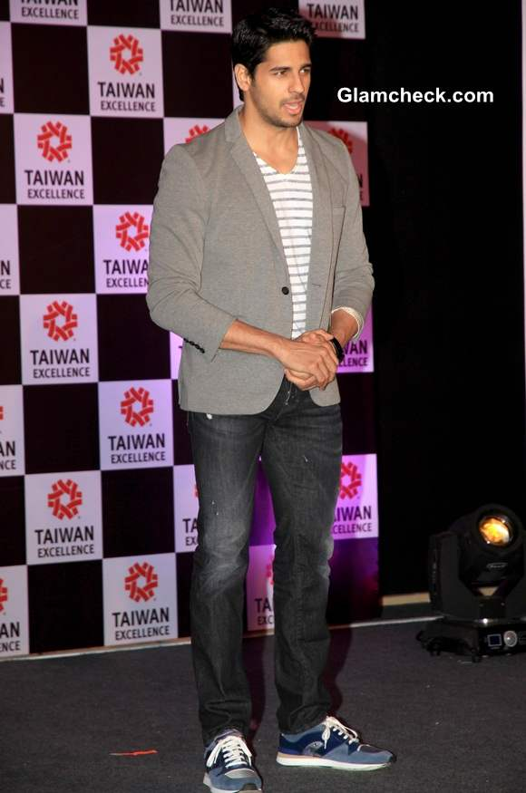 Siddharth Malhotra at Taiwan Excellence 2014 Campaign