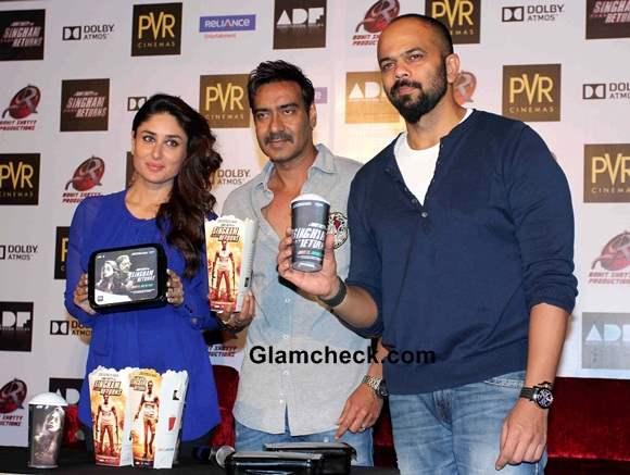 Singham Returns Merchandise by PVR