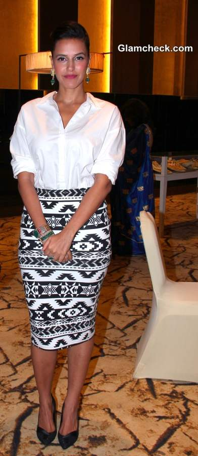 Socialite Michelle Poonawala and Bollywood actor Neha Dhupia