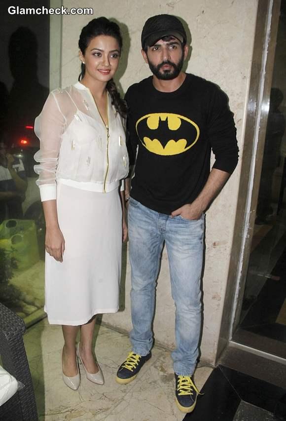 Surveen Chawla and Jay Bhanusali