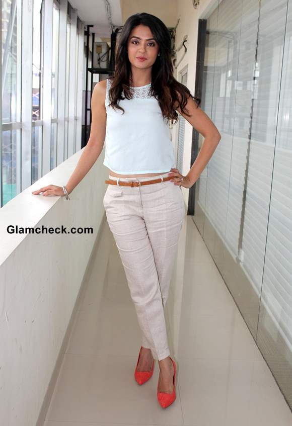 Surveen Chawla at Hate Story 2 Press Meet