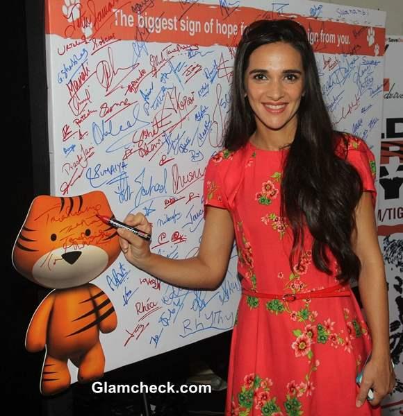 Tara Sharma Talks About Saving Tigers on World Tiger Day