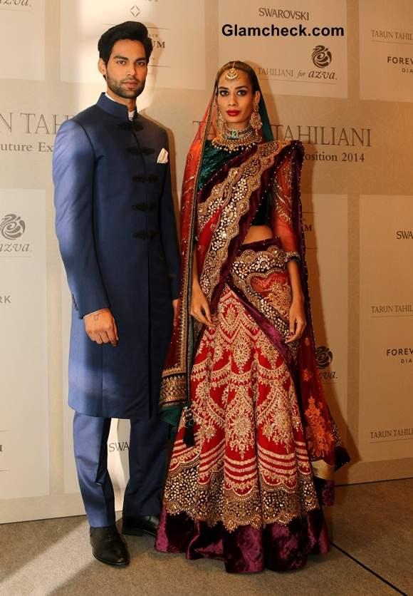 Tarun Tahiliani The Modern Mughals at 2014 Bridal Expo