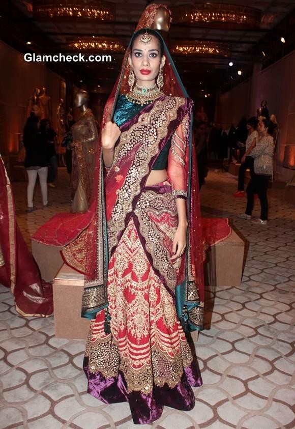 Tarun Tahiliani The Modern Mughals at Bridal Expo 2014