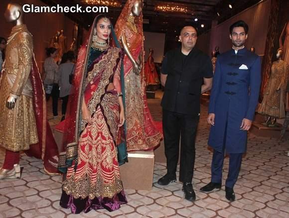 The Modern Mughals collection by Tarun Tahiliani at Bridal Expo 2014
