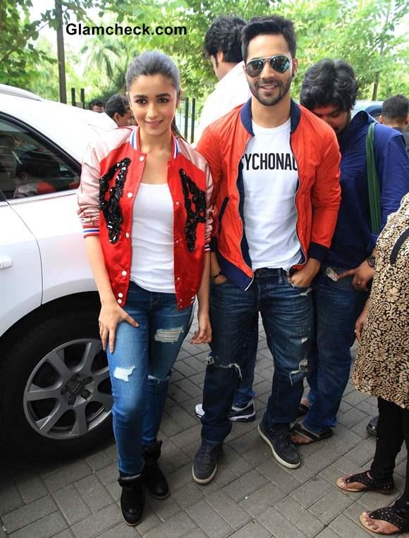 Varun and Alia Promote Humpty Sharma Ki Dulhania