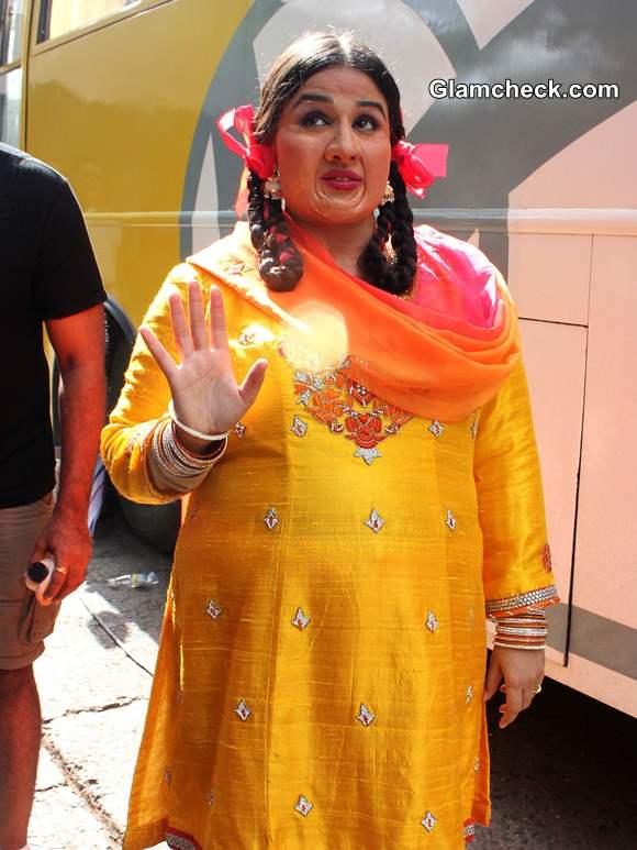 Vidya Balan Promotes Bobby Jasoos on Jhalak Dikhlaa Jaa 7 pics
