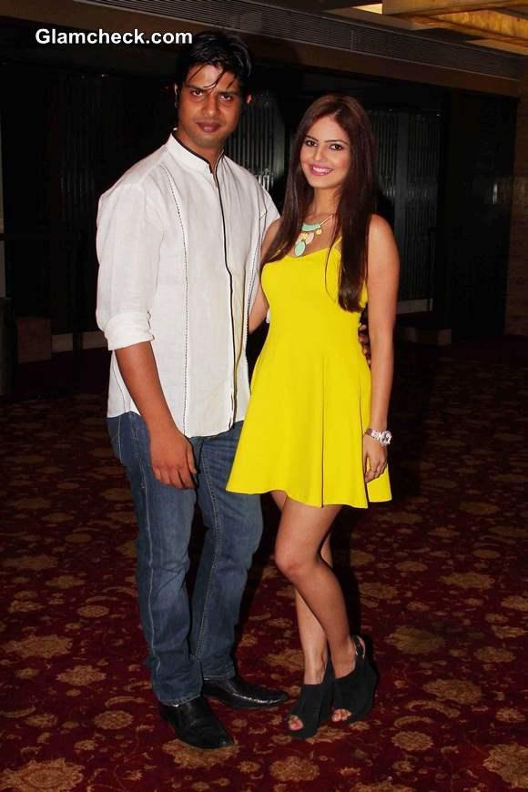 actor Piyush Raina and Poonam Pandey
