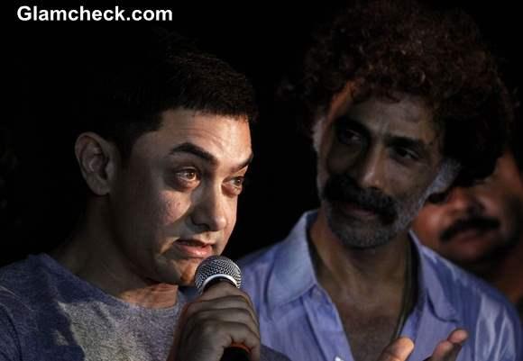 Aamir Khan Gets Sneak Preview of Saturday Sunday