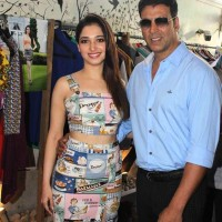 Akshay Kumar and Tamannaah Bhatia Promote Entertainment