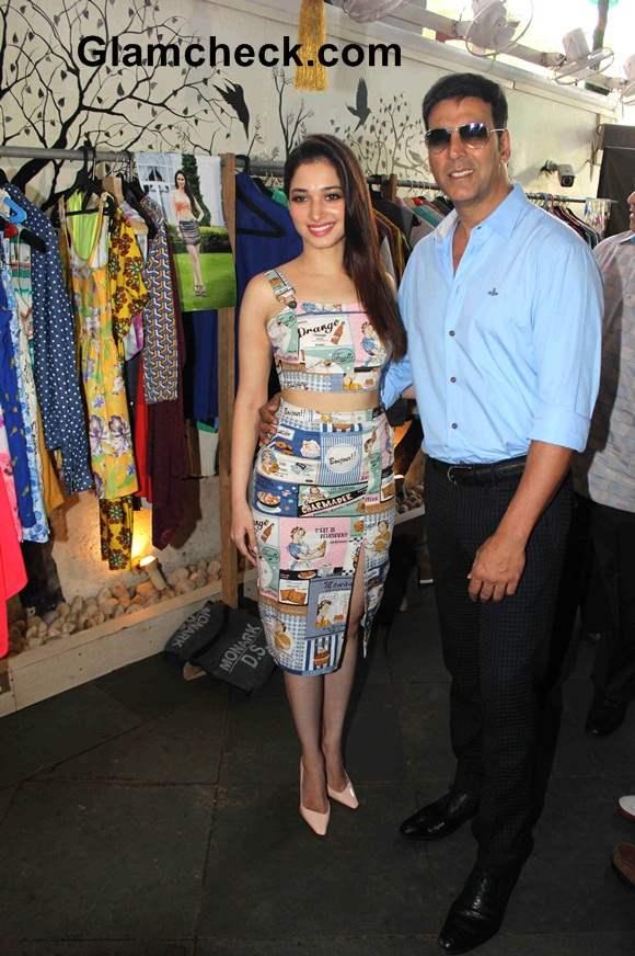 Akshay Kumar and Tamannaah Bhatia movie Entertainment