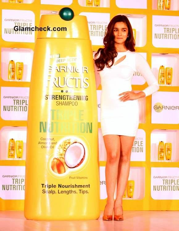 Alia Bhat in Arden B Bodycon Dress at Garnier Fructis Event