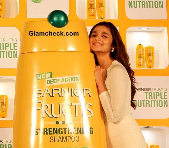 Alia Bhatt Promotes Garnier Fructis
