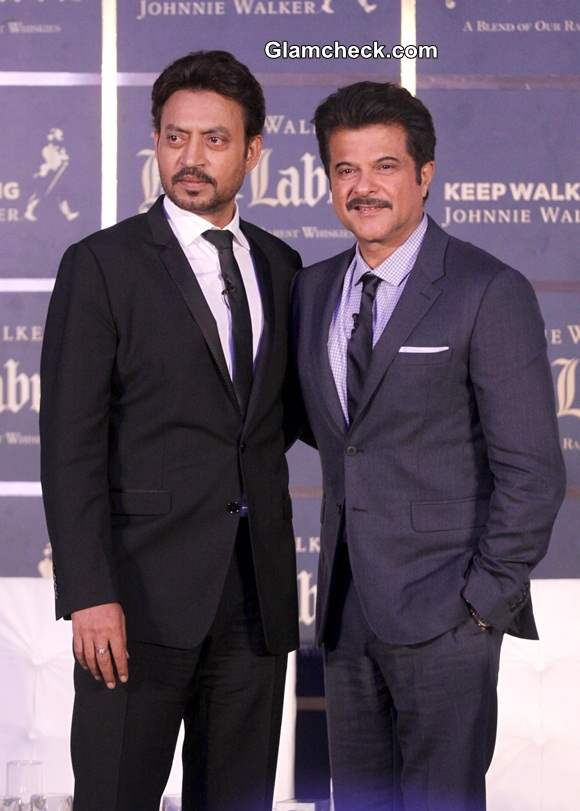 Anil Kapoor Irfan Khan Promote The Gentlemans Wager