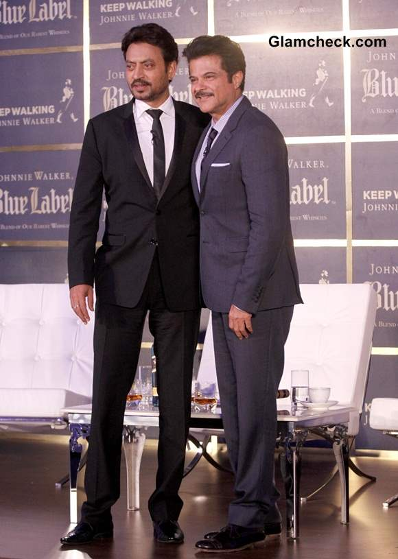 Anil Kapoor and Irfan Khan Promote The Gentlemans Wager