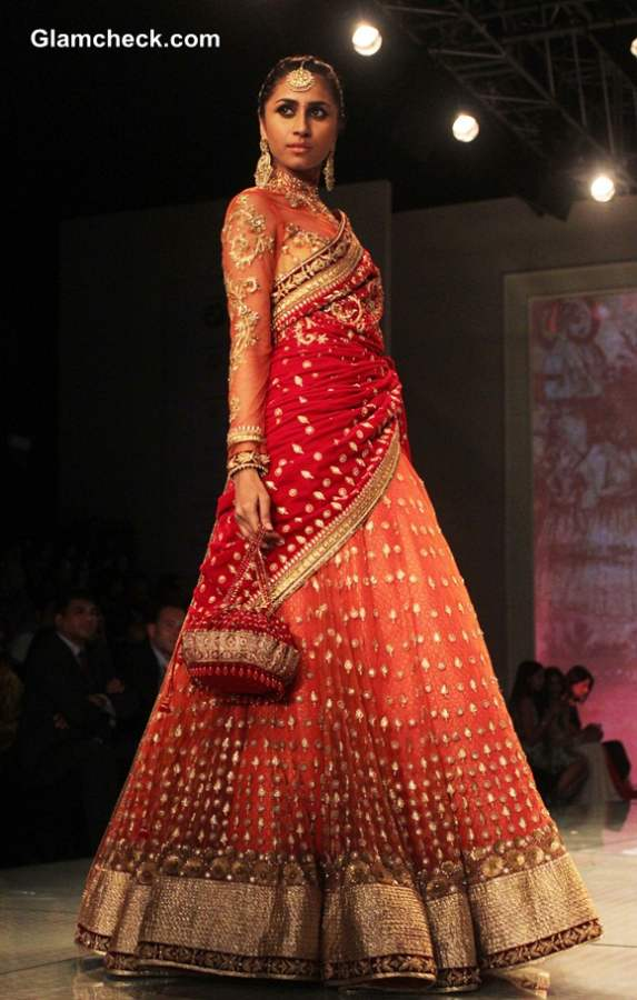 Bridal Fashion Show 2014 India BMW India Bridal Fashion Week