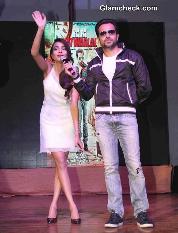 Emraan Hashmi and Humaima Malik Promote Raja Natwarlal