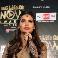 Esha Gupta at Big Life OK Now Awards 2014