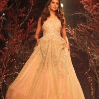 Esha Gupta for Jyotsna Tiwari India Bridal Fashion Week 2014