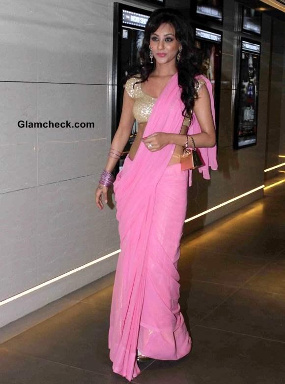Get the look – Vedita Pratap Singh Hot Romantic Sari