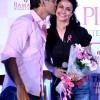Gul Panag Milind Soman launch the 2nd Pinkathon in New Delhi