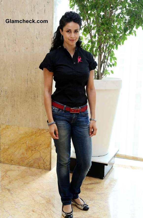 Gul Panag launches the 2nd Pinkathon in New Delhi