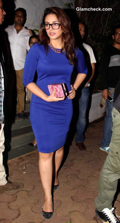 Huma Qureshi At the wrap-up party of film Badlapur
