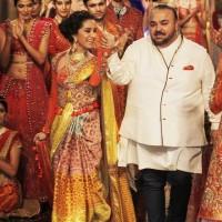 J J Valaya at India Bridal Fashion Week 2014