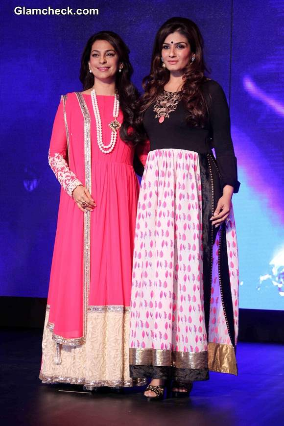 Juhi Chawla Raveena Tandon Launch New Channel Sony Pal
