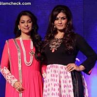 Juhi Chawla and Raveena Tandon Launch New Channel Sony Pal