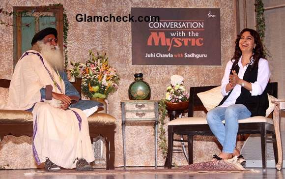 Juhi Chawla in Conversation with Sadhguru