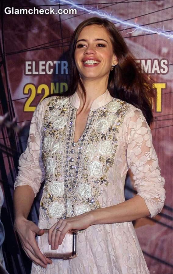 Kalki Koechlin in Anarkali Suit pics 2014