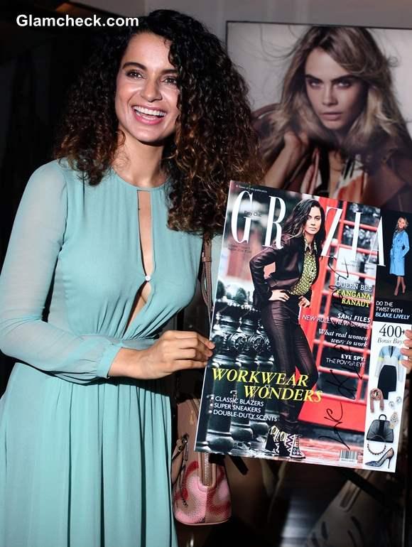Kangana Ranaut on Grazia Cover August 2014 Issue