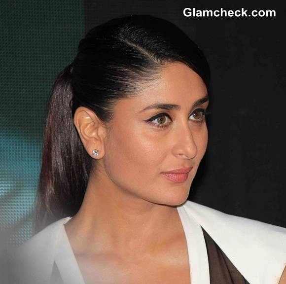 Kareena Kapoor Ponytail Hairstyle