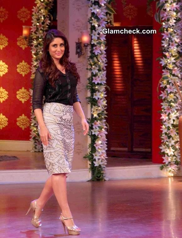 Kareena Kapoor during Singham Returns Promos