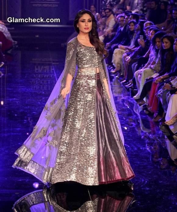 Kareena Kapoor for Manish Malhotra LFW Winter-Festive 2014